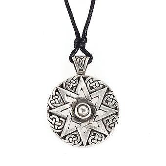 Handmade Celtic Evolving Knot Pewter Pendant