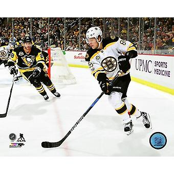 David Pastrnak 2016-17 Action Photo Print