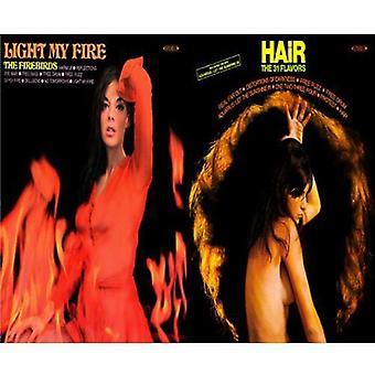 Firebirds & 31 varianter - Light My Fire/hår [CD] USA importerer