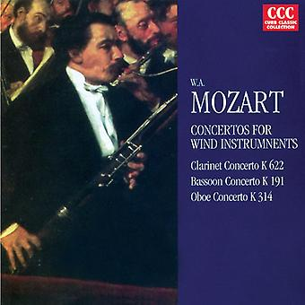 W.a. Mozart - Mozart: Concertos for Wind Instruments [CD] USA import