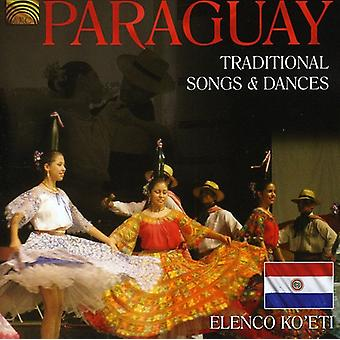 Paraguay-Traditional Songs & Dances - Paraguay-Traditional Songs & Dances [CD] USA import