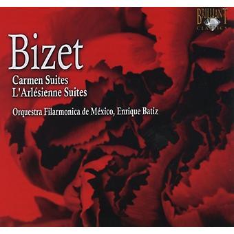 G. Bizet - Bizet: Carmen Suites; Importer des Suites de Sienne L'Arl [CD] é.-u.