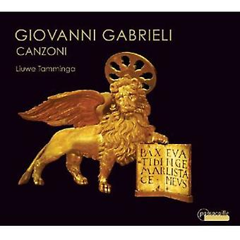 G. Gabrieli - Giovanni Gabrieli: Canzoni [CD] USA import