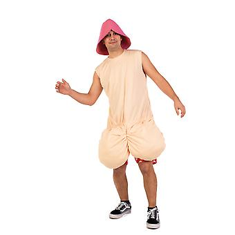 Crazy penis men's costume JGA Bachelor
