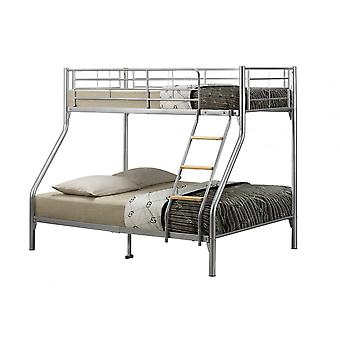Birlea Nexus Bunk Bed Silver