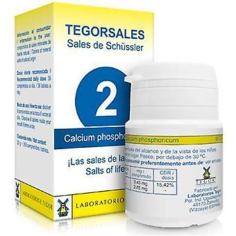 Laboratorios Tegor Calcium Phosphorus Vitamin D6 Tegorsalesl N2 350 Tablets (Diet)