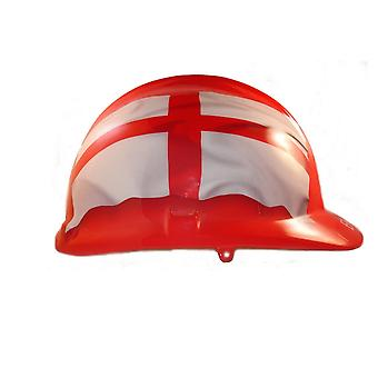 England Red Themed Hard Hat