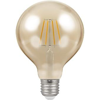 Crompton 7.5W LED Filament G125 Globe Light Bulb, E27