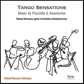 Manuel Barrueco & Cuarteto Latinoamericano - Tango Sensations-Music of Piazzolla & Guastavino [CD] USA import