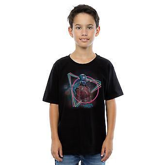 Marvel jungen Hüter des Galaxy Neon Nebula T-Shirt
