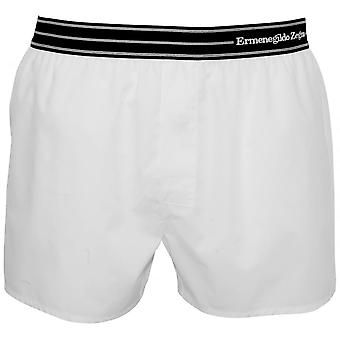 Ermenegildo Zegna Striped Waist Boxer Short, White