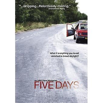 Fem dage [DVD] USA import