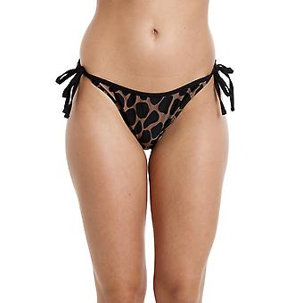 Camille Womens Animal Print slips Side Bikini Print