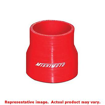 Mishimoto Silicone Couplers MMCP-2530RD Red 2.5 to 3.0in Fits:UNIVERSAL 0 - 0 N