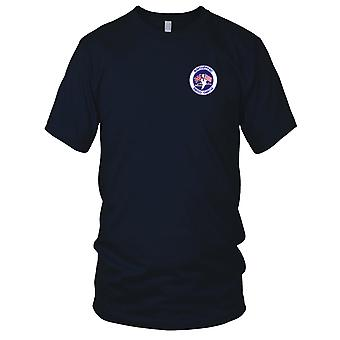 US Navy Diego Garcia Naval Support Facility Embroidered Patch - Mens T Shirt