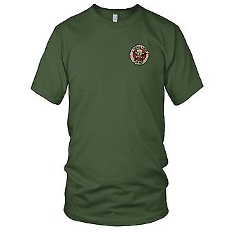 ARVN Ranger III CORPS Recon Tham Kich - Military Insignia Vietnam War Embroidered Patch - Mens T Shirt
