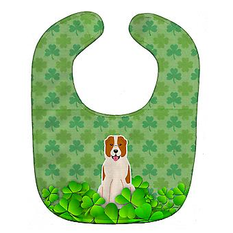 Carolines Treasures  BB6190BIB Central Asian Shepherd Dog Shamrocks Baby Bib