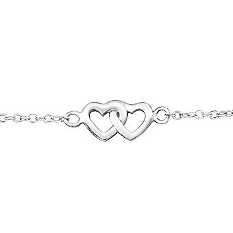 Coeur - 925 Sterling Silver Bracelets de chaîne - W18531x