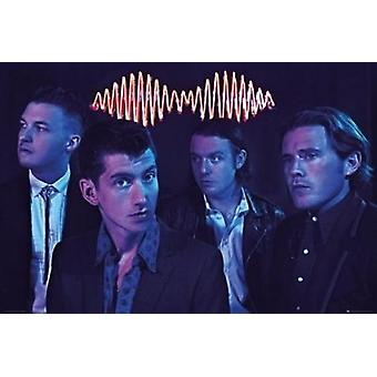 Arctic Monkeys - Group Poster Poster Print