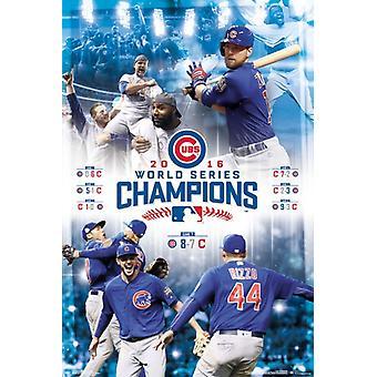 Serie Mundial de 2016 - celebración cartel Poster Print