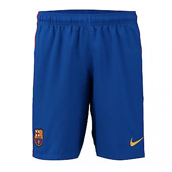 2016-2017 Барселона дома футбола Nike шорты синего (дети)