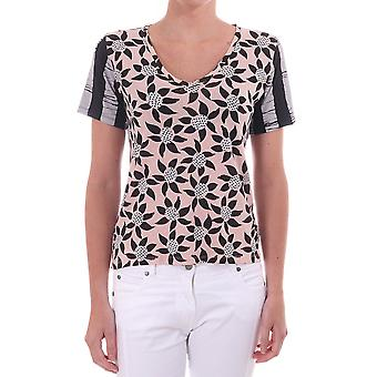 Paul Smith Paul Printed Floral T Shirt With Contrast Sleeve