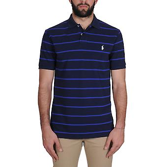 Ralph Lauren men's A12KNC39CS47PC4RQW Blau cotton polo shirt