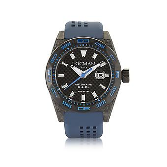 Locman 0216V3CBCBNKBS2B blue steel mens watch