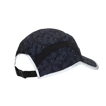 New Balance 5 Panel Performance Cap - Geo Stripe Print