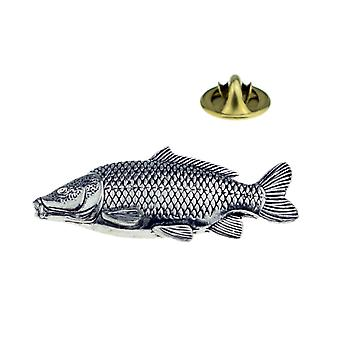 Common Carp / Fishing Lapel Pin Badge