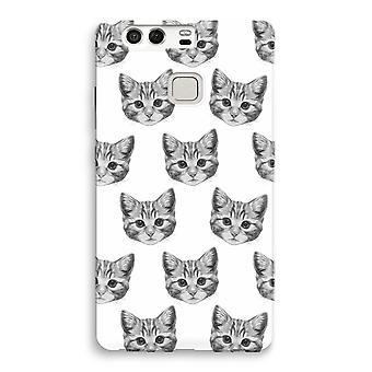 Huawei P9 Full Print Case - Kitten