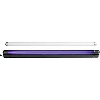 UV fluorescent tube set 120cm 36W Slim UV & weiß 36 W
