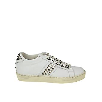 Leather Crown women's WICONIC15 White leather of sneakers