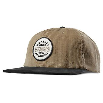 ETNIES patchato i cappelli - Nero / Tan