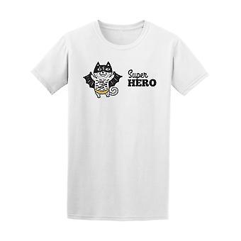 Super Cat Super Hero Tee Men's -Image by Shutterstock