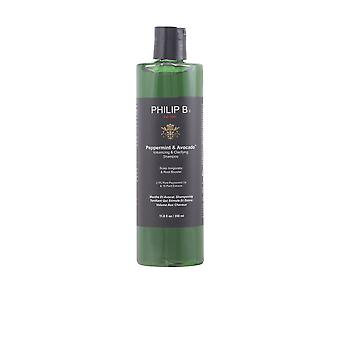 Philip B PEPPERMINT & AVOCADO volumizing shampoo 3