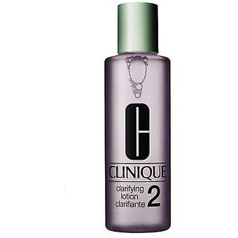 Clinique Clarifying Lotion 2 Combo Skin  (Cosmetics , Facial , Facial cleansers)