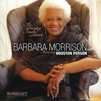 Barbara Morrison - Sunday Kind of Love [CD] USA import