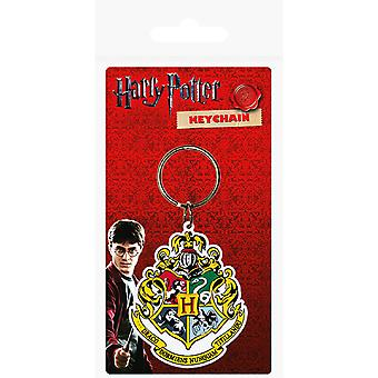 Harry Potter Official Hogwarts Rubber Keyring