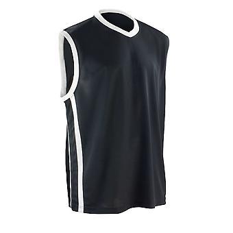 Spiro Mens Basketball Quick Dry Top