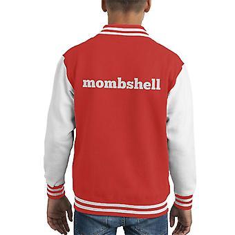 Momshell Kid's Varsity Jacket