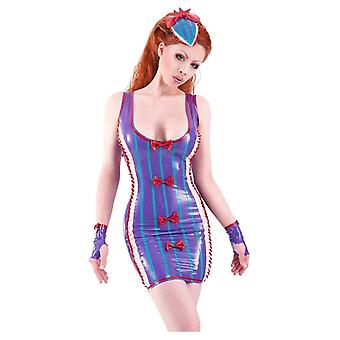 Westward Bound Lolly La Bomb Latex Rubber Dress.