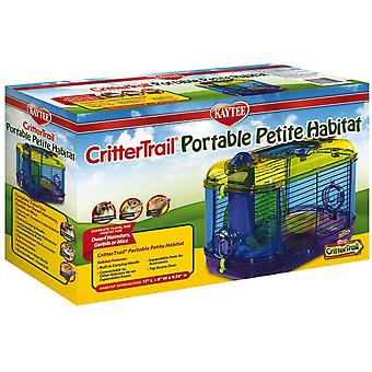 Kaytee Jaula Crittertrail Portable (Small pets , Cages and Parks)