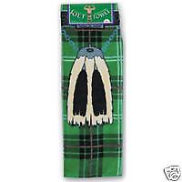 Instakilt Green Tartan Adults Kilt Towel
