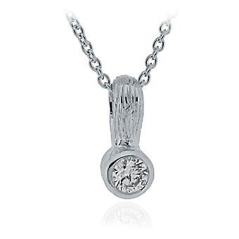 Orphelia Silver 925 Pendant With Chain Zirconium  ZH-6025