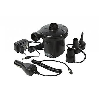 Regatta Rechargeable AC/DC Electric Pump with EU Plug - Black