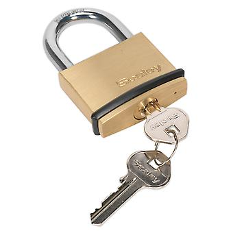 Sealey Pl202 Brass Body Padlock 50Mm