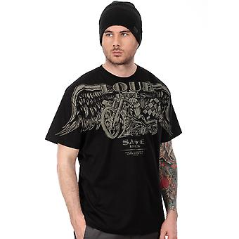West Coast Choppers Black Loud Pipes T-Shirt