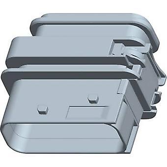 TE Connectivity Socket enclosure - PCB HDSCS, MCP Total number of pins 4 1-1564534-1 1 pc(s)