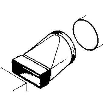 Sistema de canal plano ventilación 100 mm puente 110/100 Wallair 20200115